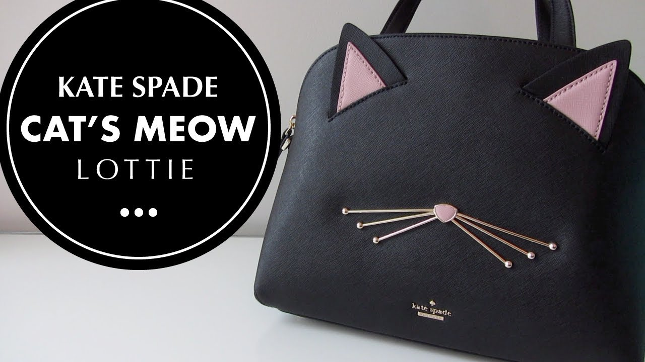 Kate Spade Cat S Meow Lottie Bag Unboxing And Tour