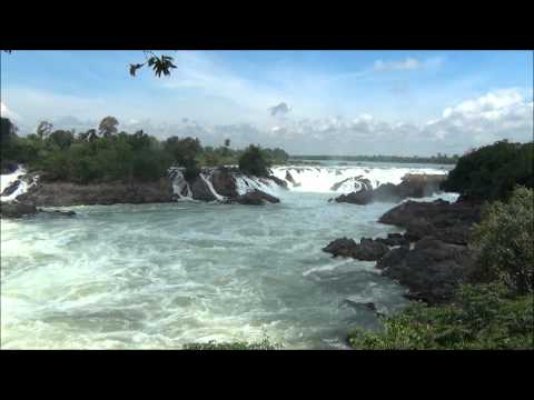 Don Khone,  Khong Phapheng Falls, Don Det 4000 Islands Laos. 2012