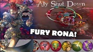 New Fury Rona Skin Gameplay! | Vainglory [Update 1.14] Jungle Gameplay