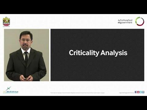 ICT 04 Criticality Analysis