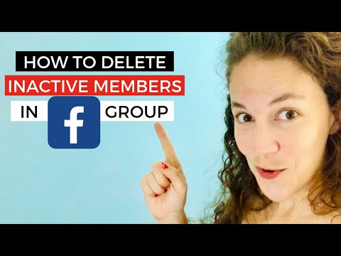 Facebook Group HACK!! Get rid of Inactive People  Here's how!