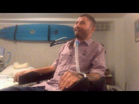 Massachusetts Peer Mentor, Jonathan Hobbs, C2/3 Quadriplegic, 20 years post-injury