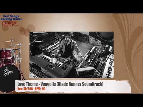 Love Theme - Vangelis (Blade Runner Soundtrack) Drums Backing Track