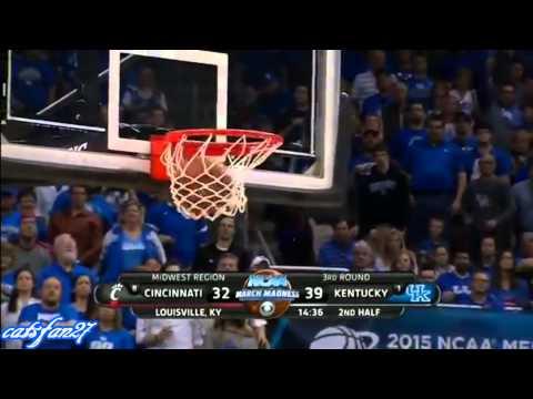 #1 Kentucky vs. #8 Cincinnati (NCAA 3rd Rd.) 3/21/15