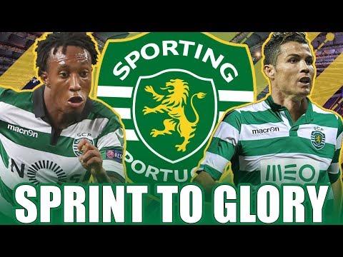 NUR MIT PORTUGIESEN ZUM CL SIEG !! 😱🏆   FIFA 17: SPORTING LISSABON SPRINT TO GLORY KARRIERE