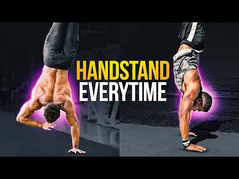 Balance The Handstand EVERYTIME! (TUTORIAL)