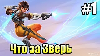 Overwatch PS4 часть 1 ЧТО ЗА ЗВЕРЬ ТАКОЙ