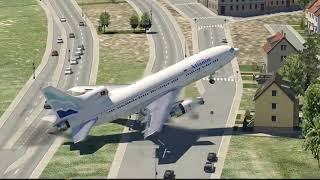Worst Landing Ever In Crosswind (HD) | X-Plane 11