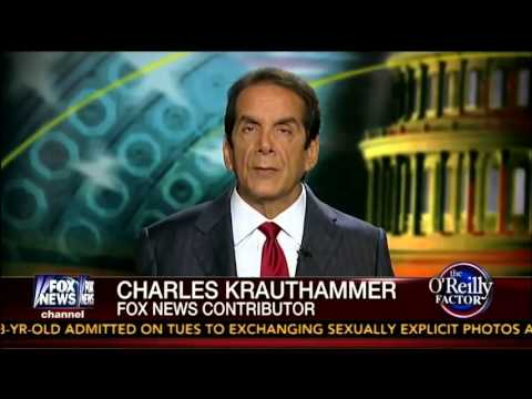 Charles Krauthammer Reacts to OReillys Talking Points   Race and Crime in America   7 23 13
