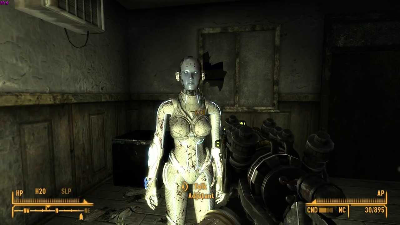 Fallout 3 nova desnuda