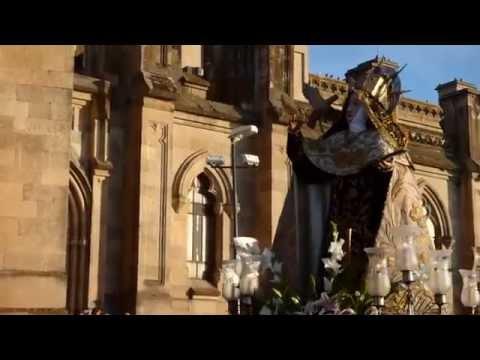 Procesión Santa Teresa 2015, Alba de Tormes