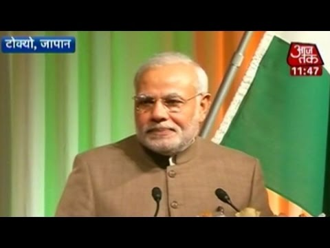 Money is my blood; I am a Gujarati: PM Modi in Tokyo
