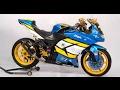 Video Modifikasi Motor Kawasaki Ninja 250 Warna Biru Keren Terbaru