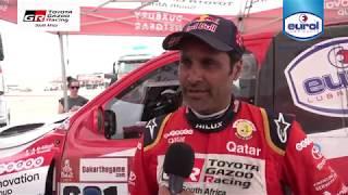 Eurol report Dakar Rally 2019, Stage 8 Toyota GAZOO Racing