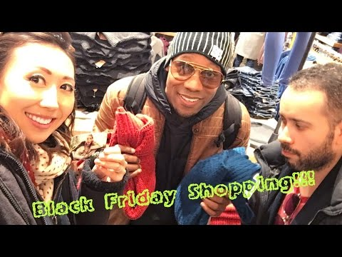 Black Friday Shopping At American Eagle In Japan