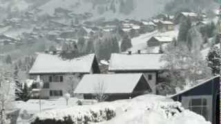 Chatel 2013 Paasdagen in de verse sneeuw.