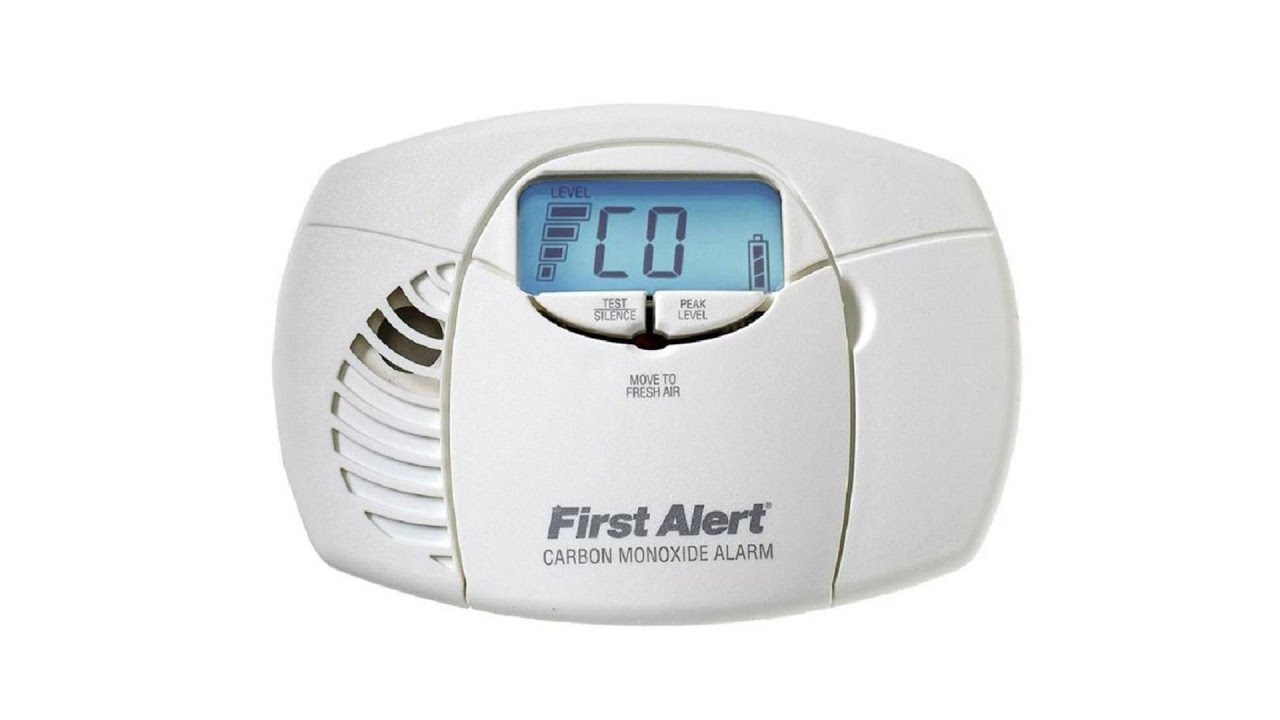 First Alert Battery Operated CO Alarm w/ Backlit Digital Display (CO410)
