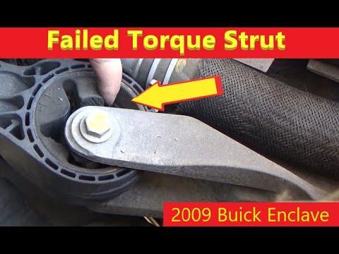 2008 – 2017 Buick Enclave Torque Strut Mount Replacement
