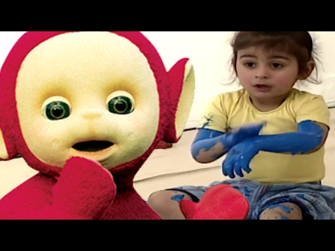 Thumbnail: Teletubbies | Painting With Our Hands & Feet | 105 | Cartoons for Children
