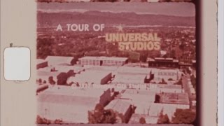 Universal Studios Hollywood - 1977 Studio Tour Promotional Film - 8mm Scan