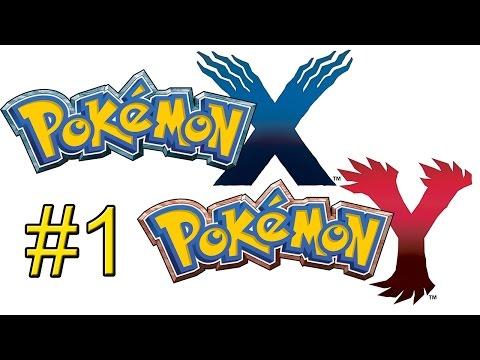 Pokemon XY {3DS} прохождение часть 1 — Я Выбираю ТЕБЯ!