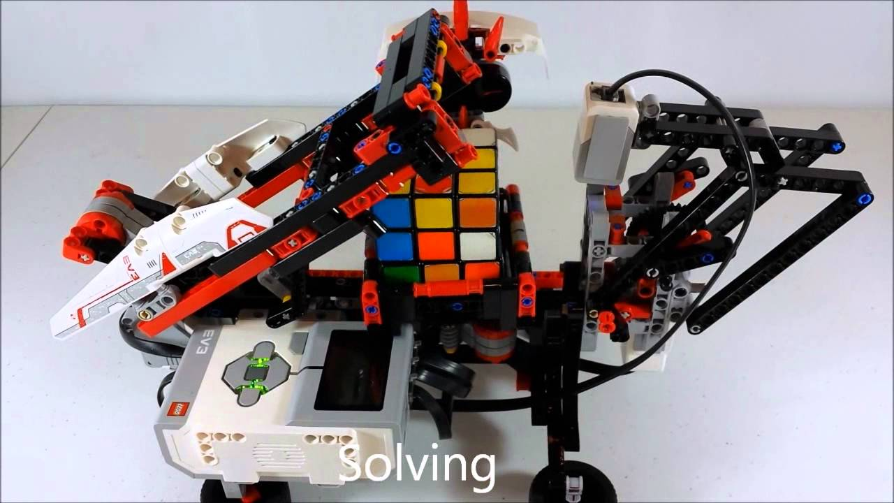 Lego Mindstorms 31313 Ev3 Mindcub3r Review Youtube
