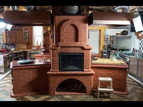 Строительство уличной кухни / Печь, казан, мангал, на дровах / Сталик Ханкишиев