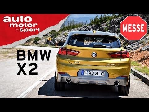 BMW X2 Weltpremiere: Teurer X1? - NAIAS 2018 Neuvorstellung I auto motor und sport