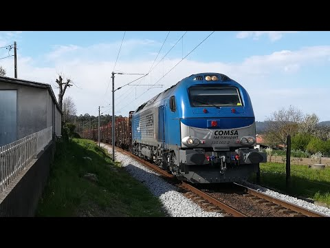 Comsa Rail Transport 002 (internacional n° 48842) Barcelos