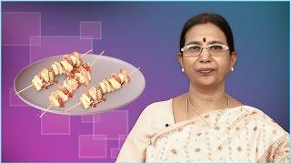 Fruit Kebab   Mallika Badrinath    Indian Recipes, Salad
