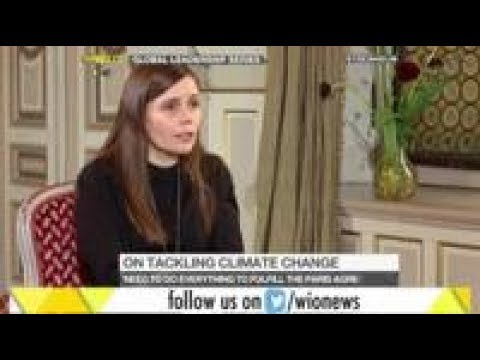 WION Exclusive: Iceland PM Katrín Jakobsdóttir speaks on climate change and other issues
