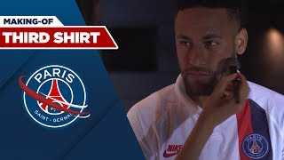 MAKING-OF THIRD SHIRT with Neymar JR and Kylian MBAPPE