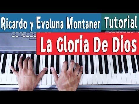 La Gloria De Dios - Ricardo Montaner ft Evaluna - Piano Tutorial by Juan Diego Arenas