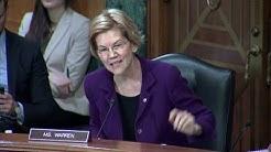 Senator Warren Questions CFPB Director Kraninger About Lack of Enforcement Action