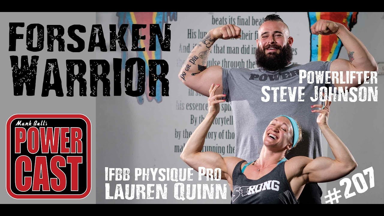 Forsaken Warrior Steve Johnson & Lauren Quinn