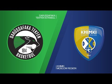 Darussafaka Tekfen Istanbul - Khimki Moscow region Highlights | EuroLeague RS Round 27