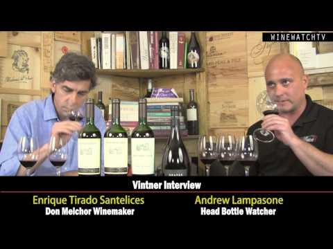 Vintner Interview with Enrique Tirado Santelices of Concha Y Toro - click image for video