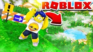 THE BIGEST LEAPS IN THE WORLD IN ROBLOX!! +999.999 METERS 😱