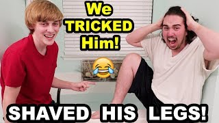 WE PLACED AN IMPOSSIBLE BET!! (PRANKED HIM) (Try this with a friend) thumbnail