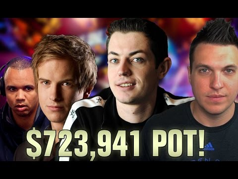 Top 5 Pots Of ALL TIME In No Limit Hold'em Online