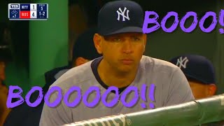 MLB Loudest Booing