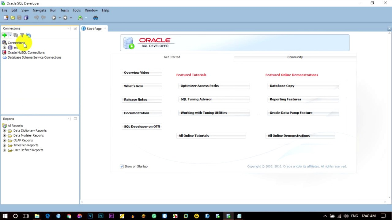 How to Connect SQL in Oracle | Listener does not know of SID given in  connect descriptor | ORA-12505