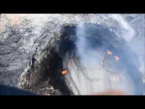 Sobrevolando el Kilauea - Hawaii Volcanoes - El Atlas de MB