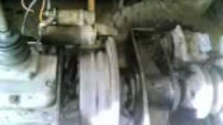 Трактор с двигателем уд-2