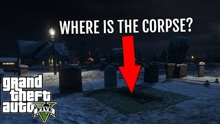 GTA 5 - The Myth Behind North Yankton Cemetery (Scary GTA V Myths & Legends)