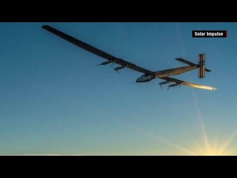 Solar plane circumnavigates the globe