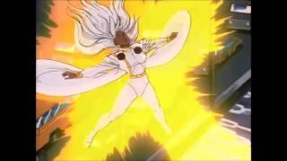 The M'Krann Crystal causes disturbances on Earth - X-Men the Animated Series