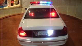 1/18 PLAIN Police car Lights and 4 Tone SIREN WWW.PO-LIGHT.COM