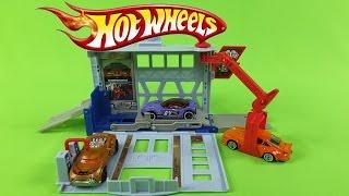 ✿ Про машинки Hot Wheels: Ремонтная мастерская - Обзоры интересных игрушек