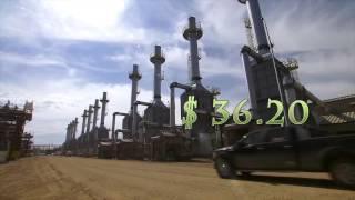 تراجع حاد في اسعار النفط